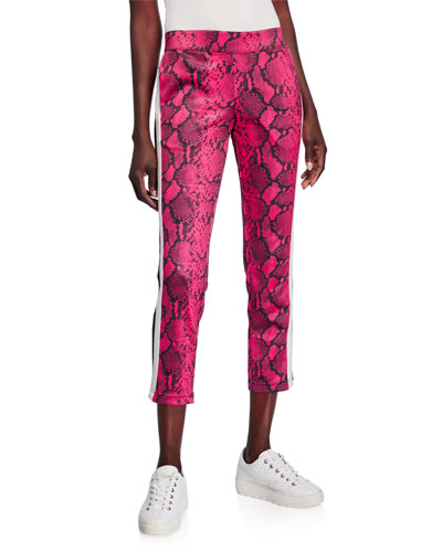 Baby Boa Cropped Track Pants