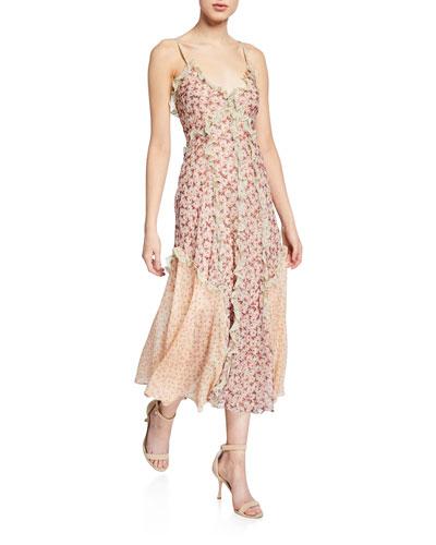 Lucia Ruffle Tank Dress