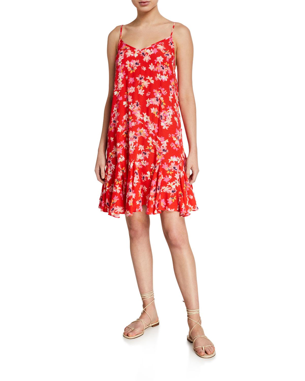 Yumi Kim Dresses DESTINATION FLORAL GODET DRESS