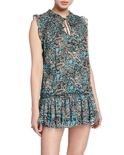 Agot Printed Sleeveless Top