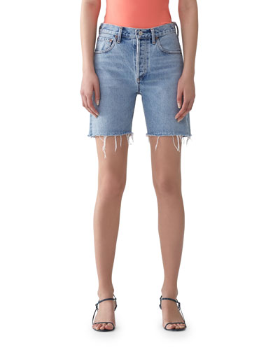 Rumi Mid-Length Cutoff Shorts