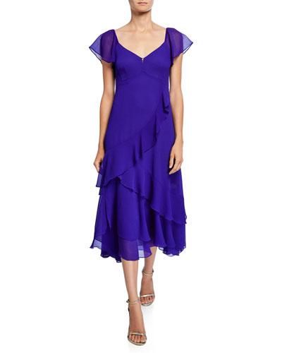 f08237093f12b Nanette Lepore Midi Dress | Neiman Marcus