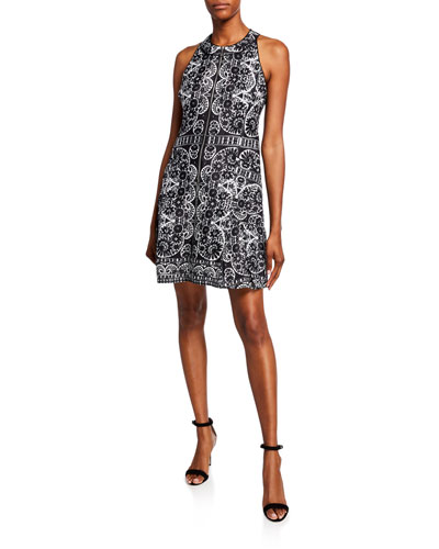 46a00f0a2687 Black Front Zip Dress | Neiman Marcus