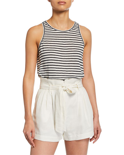 Striped Army Tank