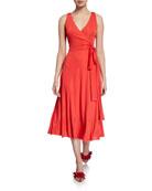 Club Monaco Jadrien Knit Wrap Dress