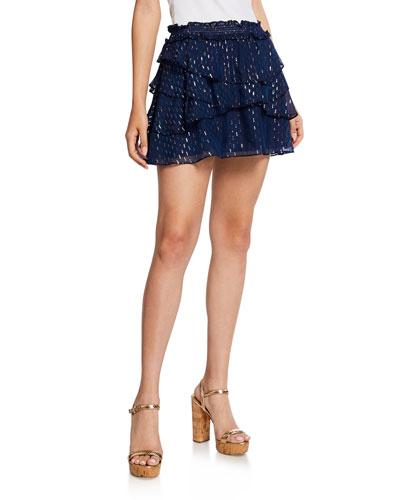 Tabitha Tiered Mini Skirt