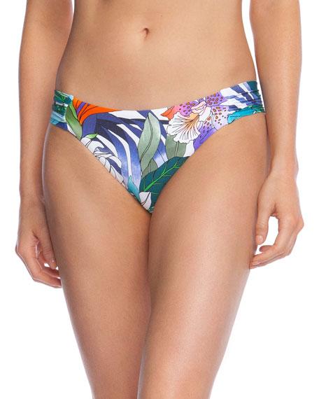 Trina Turk Amazonia Shirred Hipster Bikini Bottom