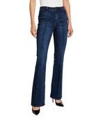 Elie Tahari Suzana High-Rise Flare Jeans