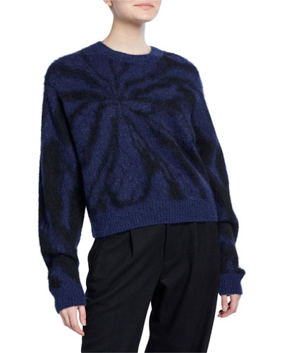 Tie-Dye Crewneck Sweater