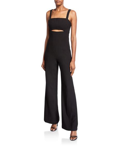 Likely Paige Sleeveless Cutout Jumpsuit