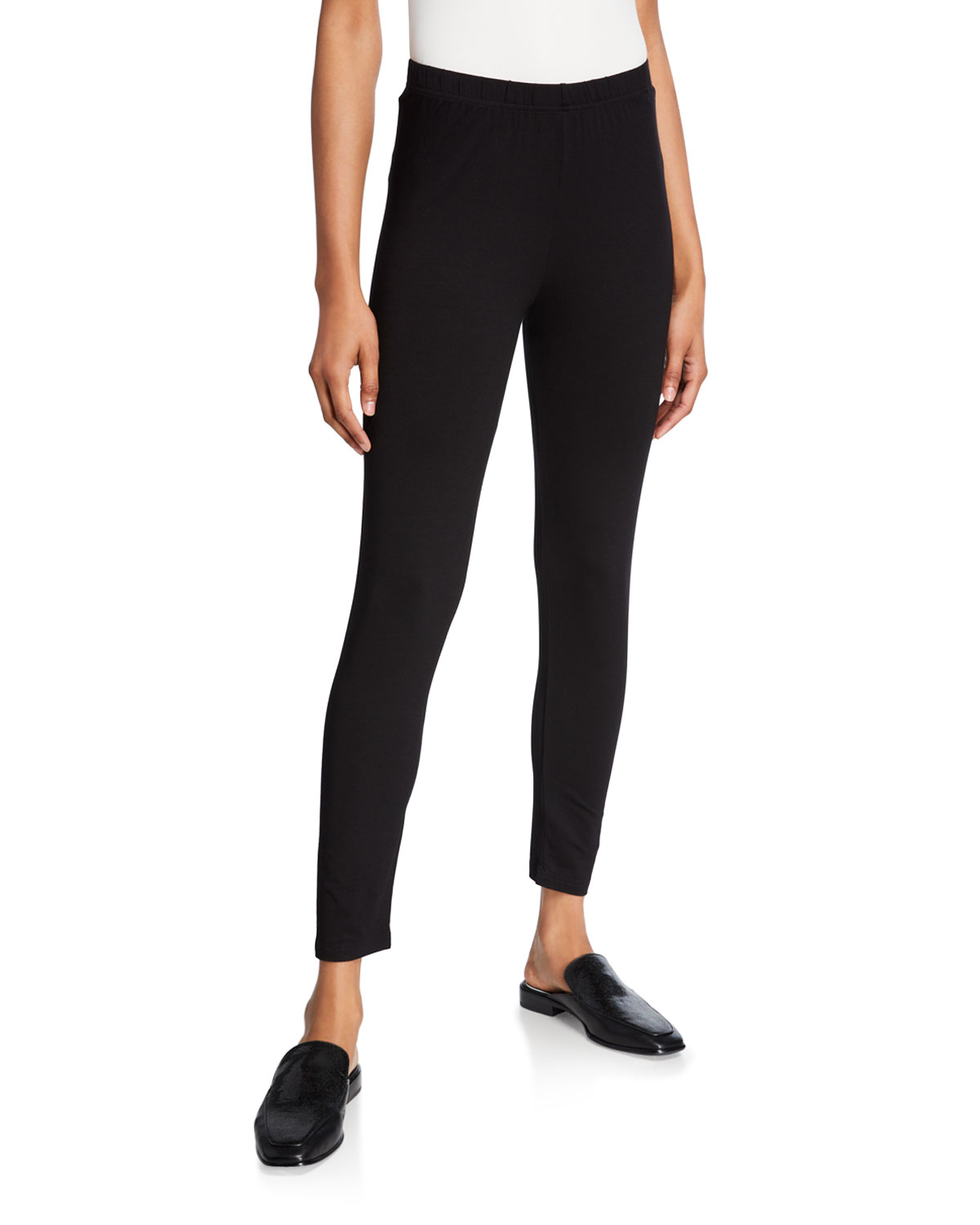 Fitted Basic Jersey Leggings