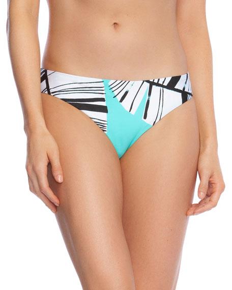 Trina Turk Cocabana Printed Hipster Bikini Bottom