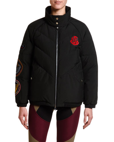 2 Moncler 1952 Minho Puffer Jacket w/ Patches