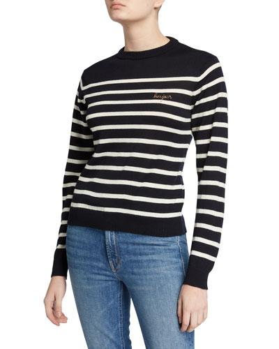 Bonjour Striped Sweater