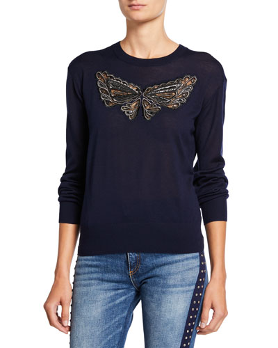 Butterfly Lace Pullover
