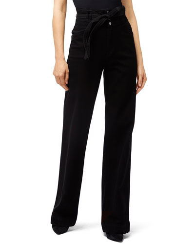 Sukey High-Rise Wide-Leg Pants