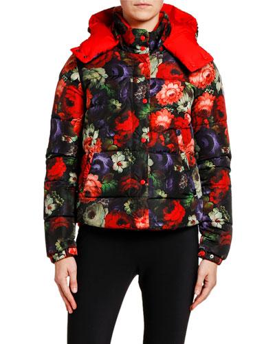 Koura Floral Puffer Jacket