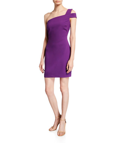 a313f9e4b2f Left Shoulder Dress | Neiman Marcus