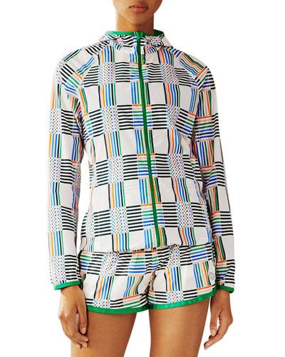 Printed Nylon Packable Jacket