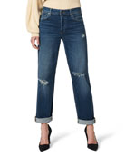 Joe's Jeans The Niki Boyfriend Jeans with Rolled