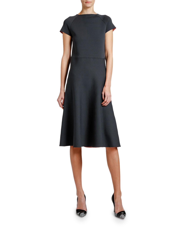 Giorgio Armani Dresses SHORT-SLEEVE KNITTED DRESS