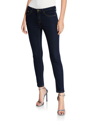 High-Waist Super Stretch Skinny Jeans
