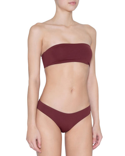 Summer So Solid Bandeau Bikini Top