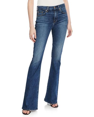 Ali High-Waist Flare-Leg Jeans
