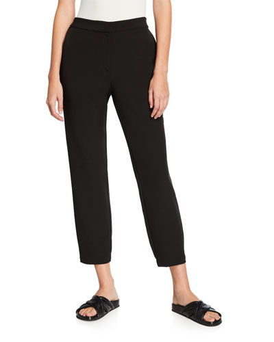 Plus Size Sleek Recycled Polyester Track Pants