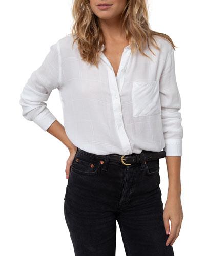 Hunter Long-Sleeve Button-Down Shirt