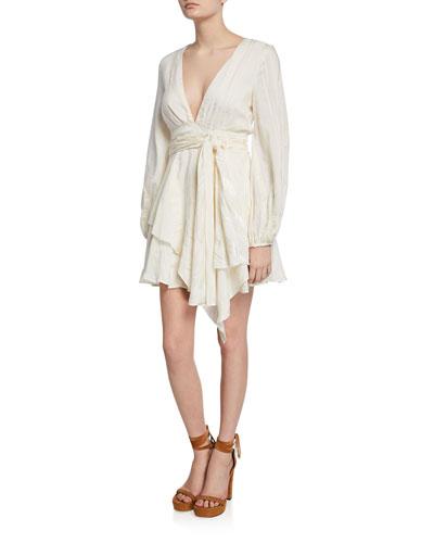Sway With Me Long-Sleeve Mini Dress