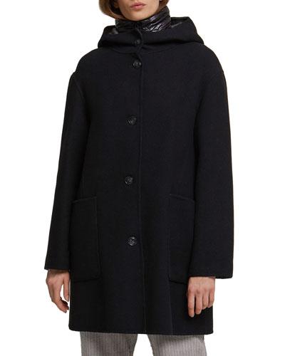 Hershey 3-in-1 Reversible Coat w/ Detachable Vest