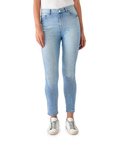 Farrow Crop High-Rise Skinny Jeans