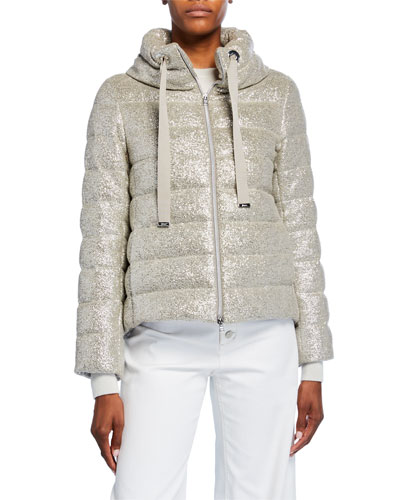 Sparkle Quilted Coat