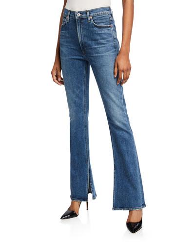 Georgia High-Rise Boot-Cut Jeans