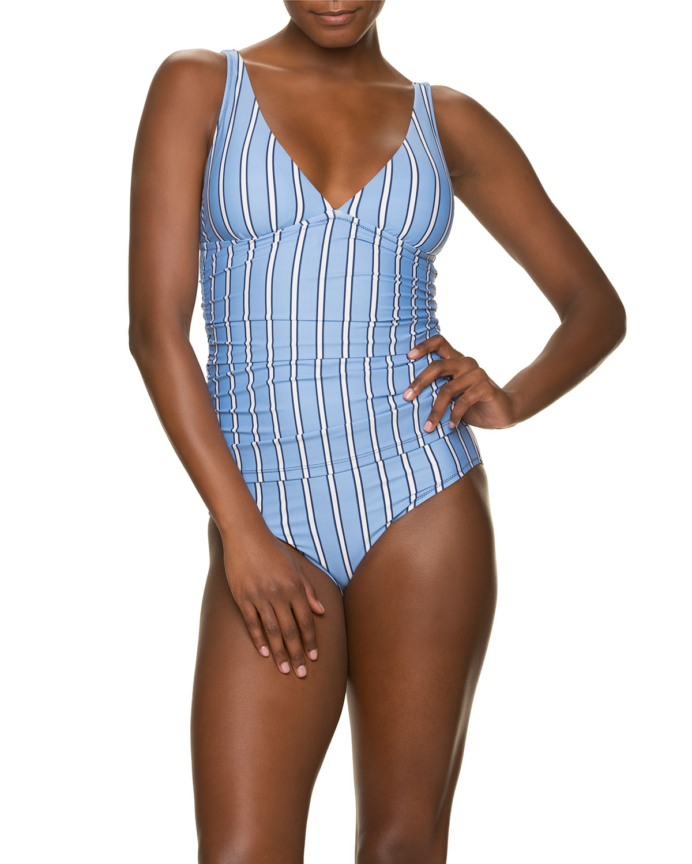 Classic Striped Hipster Bikini Bottom