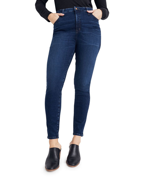 """Madewell 11"""" Rise Curvy Skinny Jeans - Inclusive Sizing"""
