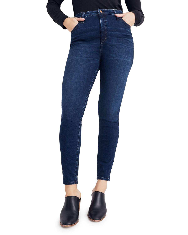 "11"" Rise Curvy Skinny Jeans"