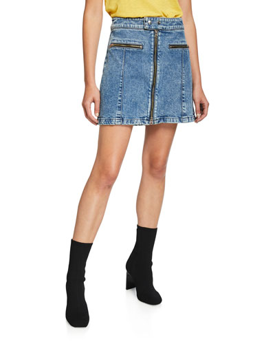 cf4e6a91d7 Cotton Spandex Denim Skirt | Neiman Marcus
