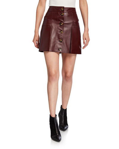 f7022412b3d Leather Skirt | Neiman Marcus