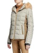 Bogner Uma Down-Filled Coat w/ Removable Hood &