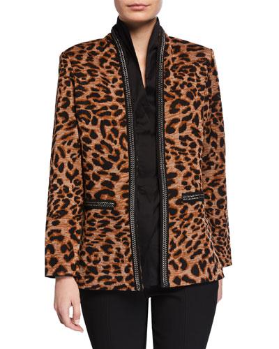 25e8524b716 Leopard Print Jacket | Neiman Marcus
