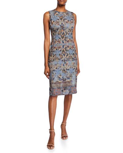 Sienna Sleeveless Sheath Dress