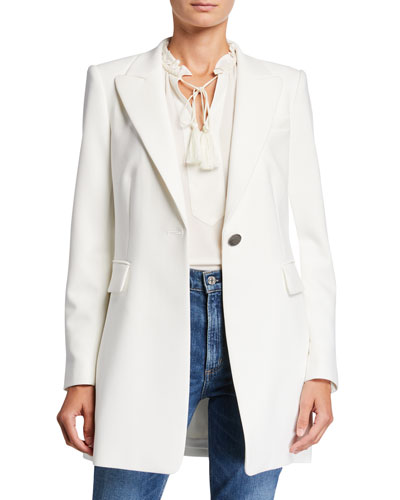 Julianne One-Button Jacket