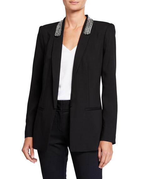 Kobi Halperin Carson Embellished Shawl-Collar Jacket