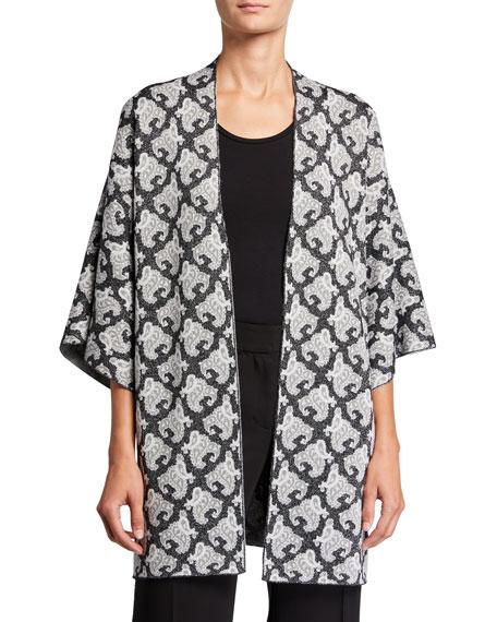 Kobi Halperin Romee Printed Kimono Sweater