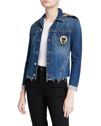 Janelle Slim Crest Jacket