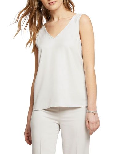 Sleek Lines V-Neck Tank