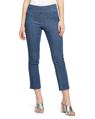 All Day Denim Capri Pants