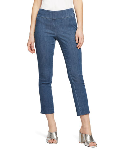 Petite All Day Denim Capri Pants